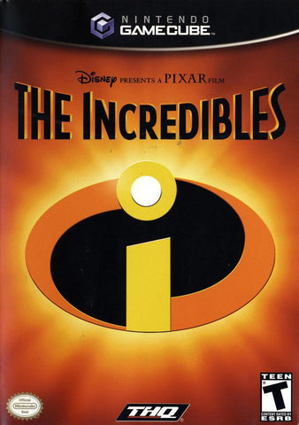 The Incredibles Nintendo Gamecube Game Off the Charts