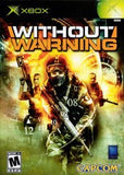 Without Warning Xbox Game Off the Charts
