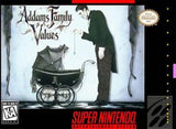 Addams Family Values Super Nintendo Game Off the Charts