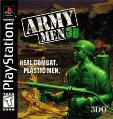 Army Men 3D Playstation Game Off the Charts