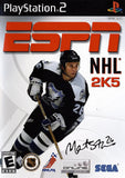 ESPN NHL 2K5 Playstation 2 Game Off the Charts