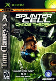 Splinter Cell Chaos Theory Xbox Game Off the Charts