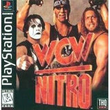 WCW Nitro Playstation Game Off the Charts