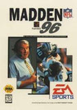 Madden '96 Sega Genesis Game Off the Charts