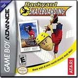 Backyard Skateboarding Game Boy Advance Game Off the Charts