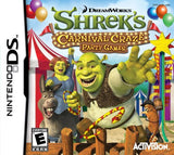 Shrek's Carnival Craze Nintendo DS Game Off the Charts