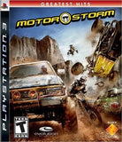Motor Storm Playstation 3 Game Off the Charts