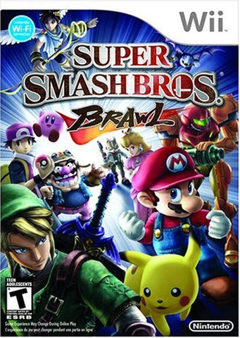 Super Smash Bros. Brawl Wii Game Off the Charts