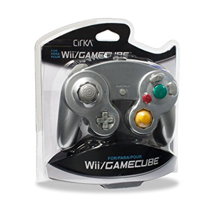 Old Skool Nintendo Gamecube / Wii Compatible Controller - Silver Nintendo Gamecube Accessory Off the Charts