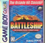 Battleship Game Boy Color Game Off the Charts