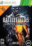 Battlefield 3 Limited Edition Xbox 360 Game Off the Charts