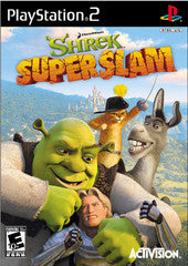 Shrek Superslam Playstation 2 Game Off the Charts