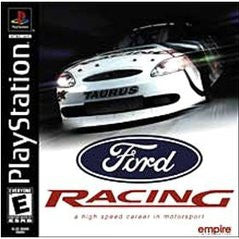 Ford Racing Playstation Game Off the Charts