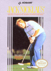Jack Nicklaus Golf Nintendo NES Game Off the Charts