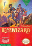 Legacy of the Wizard Nintendo NES Game Off the Charts