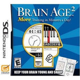 Brain Age 2 Nintendo DS Game Off the Charts