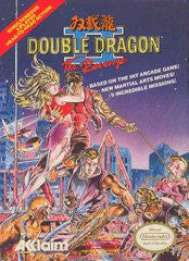 Double Dragon II The Revenge Nintendo NES Game Off the Charts