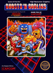 Ghosts 'N Goblins Nintendo NES Game Off the Charts
