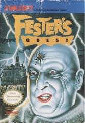 Fester's Quest - Off the Charts Video Games