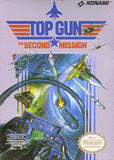 Top Gun The Second Mission Nintendo NES Game Off the Charts