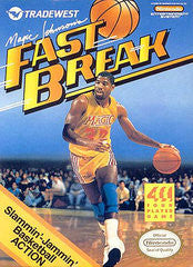 Magic Johnson's Fast Break - Off the Charts Video Games