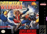 Doomsday Warrior Super Nintendo Game Off the Charts