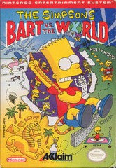 The Simpsons Bart vs The World Nintendo NES Game Off the Charts
