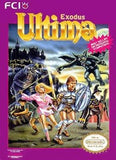 Ultima Exodus Nintendo NES Game Off the Charts