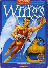 Legendary Wings Nintendo NES Game Off the Charts