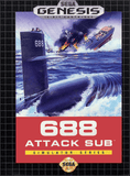 688 Attack Sub Sega Genesis Game Off the Charts