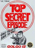 Golgo 13 Top Secret Episode Nintendo NES Game Off the Charts