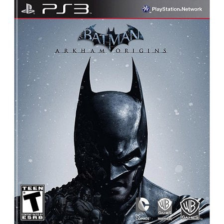 Batman Arkham Origins Playstation 3 Game Off the Charts