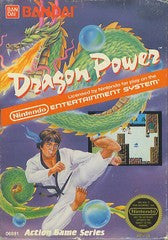 Dragon Power Nintendo NES Game Off the Charts