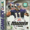 Madden 2002 Game Boy Color Game Off the Charts