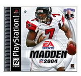 Madden 2004 Playstation Game Off the Charts