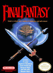 Final Fantasy - Cartridge Only Nintendo NES Game Off the Charts