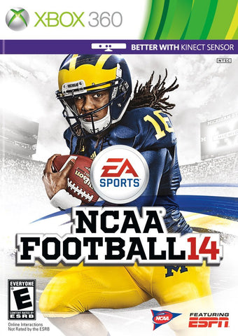NCAA Football 14 Xbox 360 Game Off the Charts