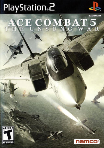 Ace Combat 5 Unsung War Playstation 2 Game Off the Charts