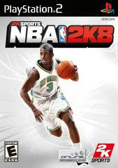 NBA 2K8 Playstation 2 Game Off the Charts