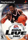 NBA Live 2002 Playstation 2 Game Off the Charts