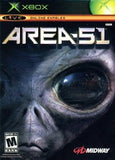 Area 51 XBOX Game Off the Charts