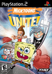 Nicktoons Unite! Playstation 2 Game Off the Charts