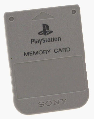 Sony Playstation 1 Memory Card - Off the Charts Video Games