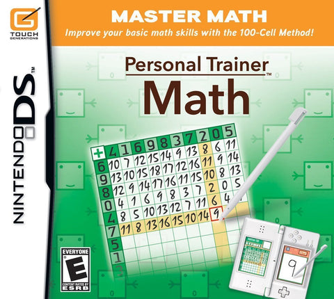 Personal Trainer Math Nintendo DS Game Off the Charts