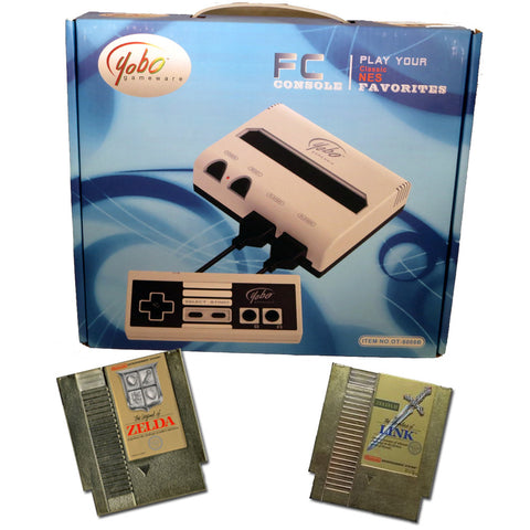 FC Mini Nintendo NES System Bundle with Zelda Double Pack Nintendo NES Console Off the Charts