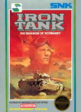 Iron Tank Nintendo NES Game Off the Charts