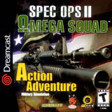 Spec Ops II: Omega Squad Sega Dreamcast Game Off the Charts