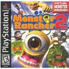 Monster Rancher 2 Playstation Game Off the Charts
