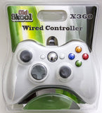Old Skool Xbox 360 Wired Controller in White Xbox 360 Accessory Off the Charts