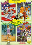 Quattro Sports Nintendo NES Game Off the Charts